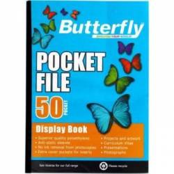 Butterfly 50 Pocket