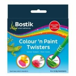 BOSTICK COL N PAINT TWISTERS 6X5 3G